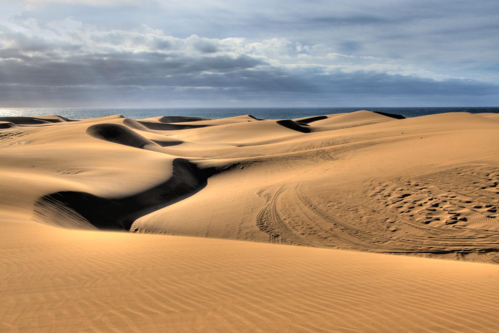 Sand Dunes in Gran Canaria